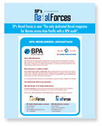 SP's Naval Forces BPA Worldwide Flyer